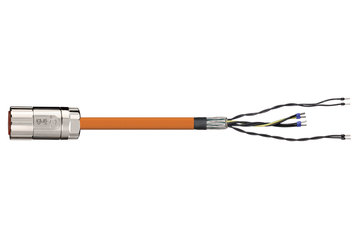 readycable® encoder cable suitable for Elau E-MO-113 SH-Motor 2.5, base cable PVC 15 x d