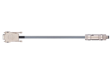 readycable® encoder cable similar to Festo KDI-MC-M8-SUB-9-xxx, base cable PVC 10 x d