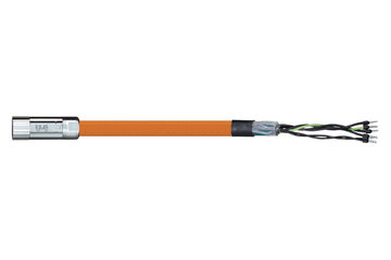 readycable® motor cable suitable for Parker iMOK56, base cable iguPUR 15 x d