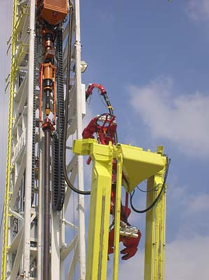 Deep drilling rig | E4 1 ESD chain | Top Drive