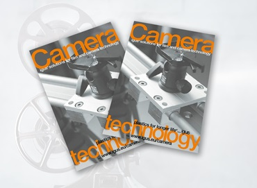 Brochure for film and camera equipment