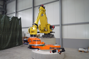 Industrial robot with seventh axis