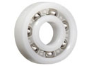 Grooved ball bearings for the food processing industry