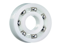 Grooved ball bearing - with xirodur B180 cage